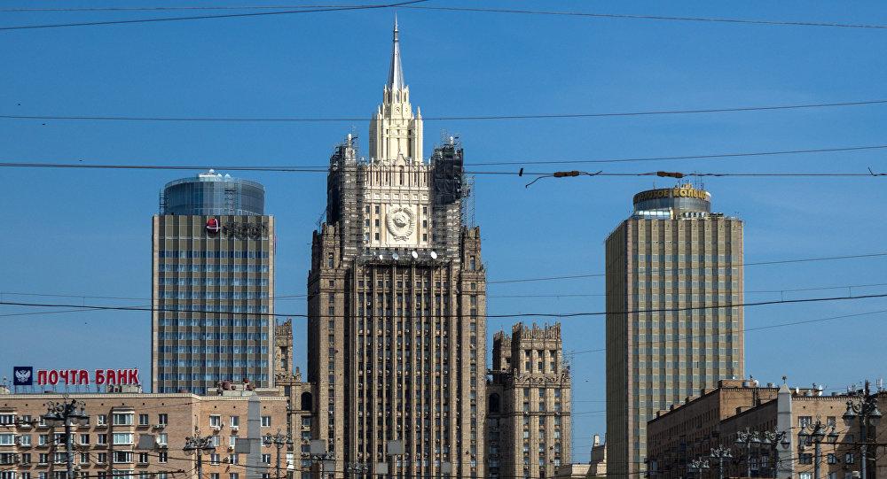 Здание МИД РФ, фото из архива