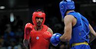 Bayram Şəmmədov iranlı idmançıya qarşı