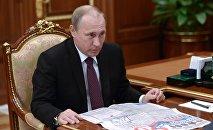 Президент России Владимир Путин, фото из архива