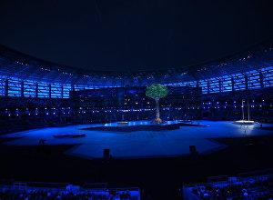 Церемония закрытия IV Игр исламской солидарности в Баку
