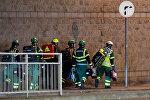 Медики и спасатели в Манчестере