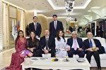 Встреча со спортсменами, победившими на IV Играх исламской солидарности