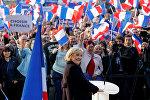 Лидер политической партии Франции Национальный фронт Франции Марин Ле Пен