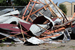 Последствия урагана, фото из архива