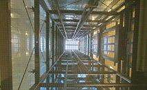 Шахта лифта, фото из архива