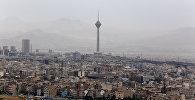Вид на Тегеран, столицу Ирана, фото из архива
