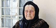 102-летняя жительница Шекинского района Азербайджана Разия Набиева