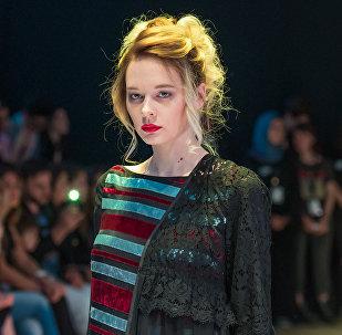 Модный показ в рамках Azerbaijan Fashion Week 2017