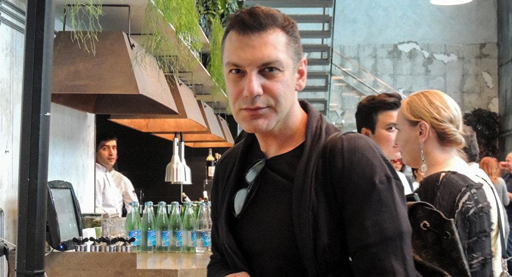 Грузинский дизайнер Автандил Цквитинидзе