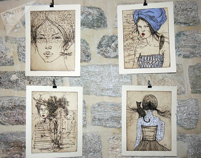 Выставка литовской художницы Эдиты Сухоцките