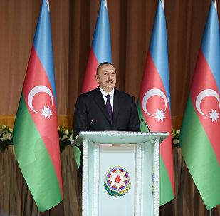 Выступление президента Ильхама Алиева в официальном приеме по случаю 28 Мая – Дня Республики