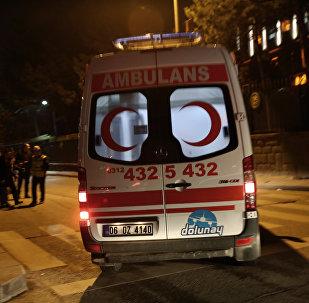 Машина скорой помощи в Стамбуле, фото из архива