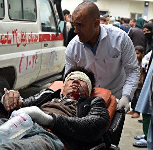 Взрыв в Афганистане, фото из архива