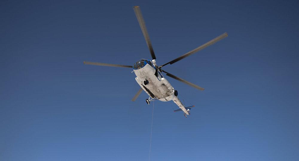 ВПриморском крае аварийно сел вертолет Ми-8, есть пострадавшие