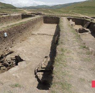 Şamaxıda tapılan nekropol
