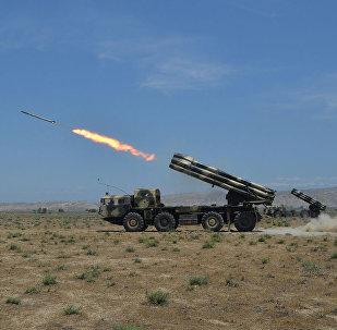 Ракетные и артиллерийские соединения проводят учения с боевыми стрельбами