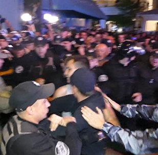 Протест из-за концерта Лободы в Одессе