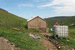 Şabran rayonunun Qazbabalı kəndində torpaq sürüşməsi aktivləşib
