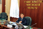 Встреча губернатора Тюменской области Владимира Якушева с представителями СМИ Азербайджана