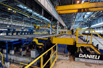 Предприятие металлургического комплекса Уральской горно-металлургической компании