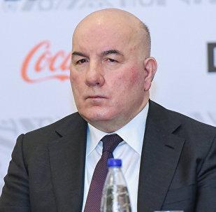 Mərkəzi Bankın sədri Elman Rüstəmov, arxiv şəkli