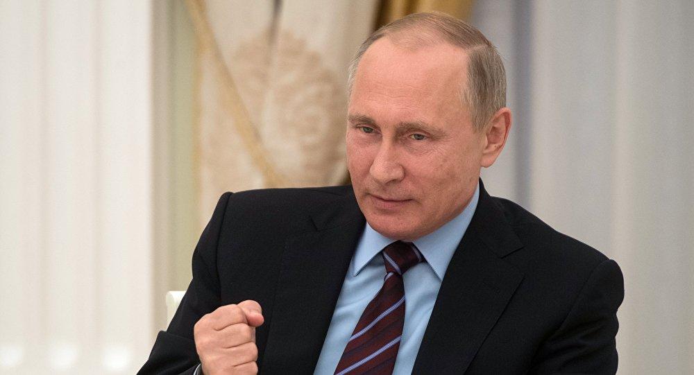 Rusiya prezidenti Vladimir Putin, arxiv şəkli