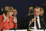 Ərdoğan və Merkel