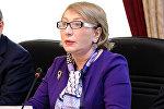 Председатель Комитета по вопросам семьи, женщин и детей Милли Меджлиса Агия Нахчыванлы