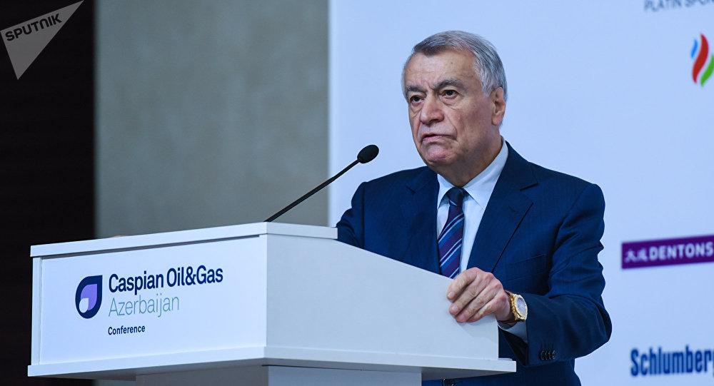 Министр энергетики Азербайджана Натиг Алиев, фото из архива