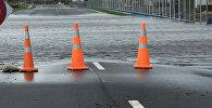 Затопленная дорога, фото из архива