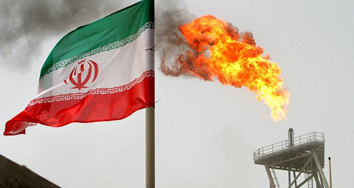 Флаг Ирана, фото из архива