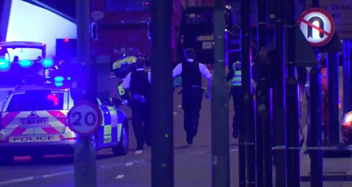 Ночной теракт в Лондоне