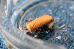 Сигаретный окурок, фото из архива