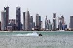Вид на столицу Катара — город Доха, фото из архива