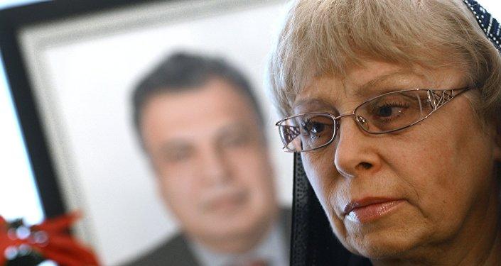 Вдова посла России в Турции Андрея Карлова Марина, фото из архива
