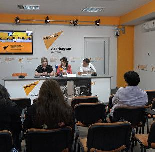 В пресс-центре Sputnik Азербайджан вспомнили чудное мгновенье