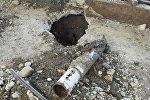 В ферме расположенной в селе Афетли Агдамского района был обнаружен неразорвавшийся снаряд