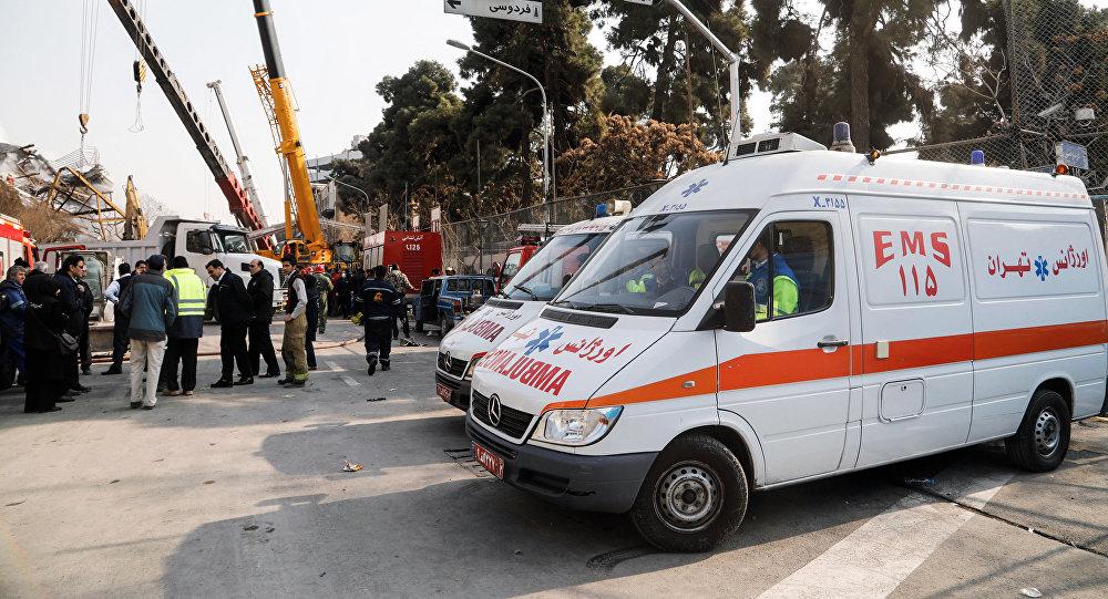 Автомобиль скорой помощи в Иране, фото из архива