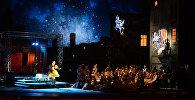 Сцена из оперы Руджеро Леонкавалло Паяцы, фото из архива