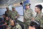Руководство Министерства обороны в Учебном Центре ВВС Азербайджана