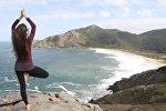 Медитация под открытым небом, фото из архива