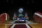 Церемония прощания с Натигом Алиевым
