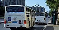 Автобусы в Баку, фото из архива