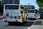 Bakıda köhnə avtobuslar