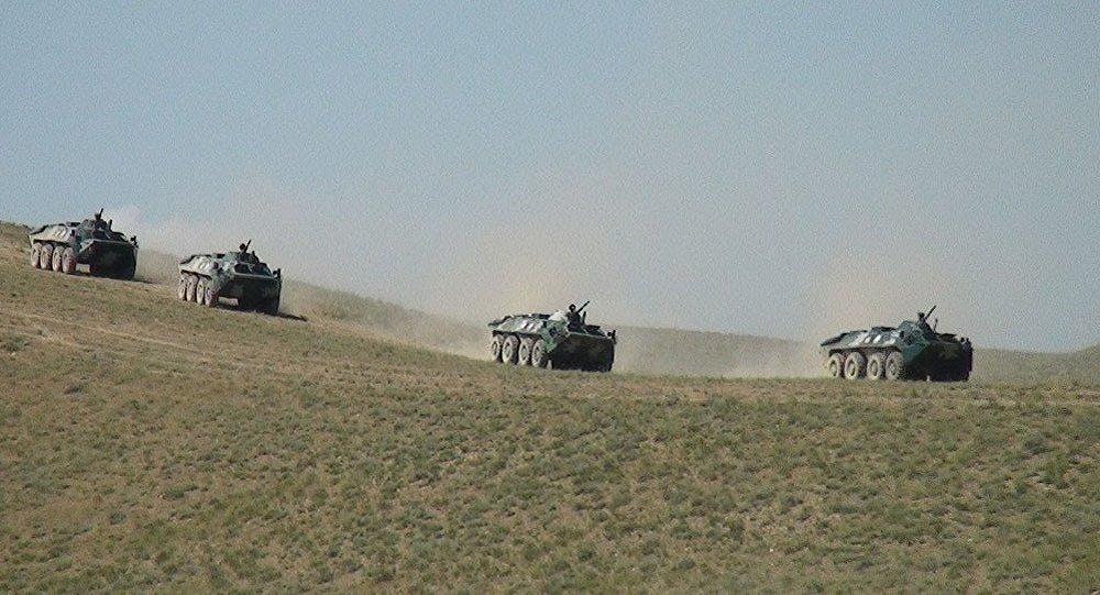 Тактические учения Вооруженных сил Азербайджана, фото из архива