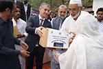 Фонд Гейдара Алиева передал в ряде сел Пакистана праздничные подарки в связи с месяцем Рамазан