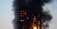 Пожар в центре Лондона, фото из архива