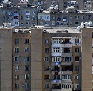 Жилые дома в Хатаинском районе Баку, фото из архива