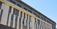 Строящееся здание школы №20 в Баку