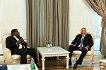 Президент Ильхам Алиев принял генерального секретаря Межпарламентского союза